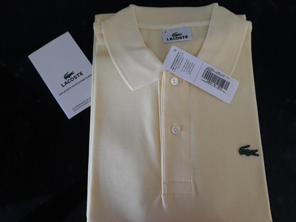 759dec91e8e camisa lacoste polo nova com etiqueta. Carregando zoom.