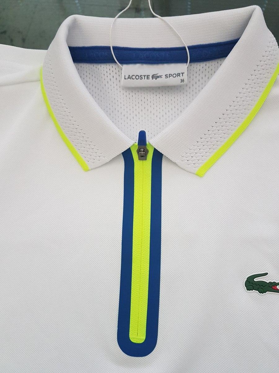 a7fb799fbfe54 Camisa Lacoste Sport Feminina Ultra Dry - R  449,00 em Mercado Livre