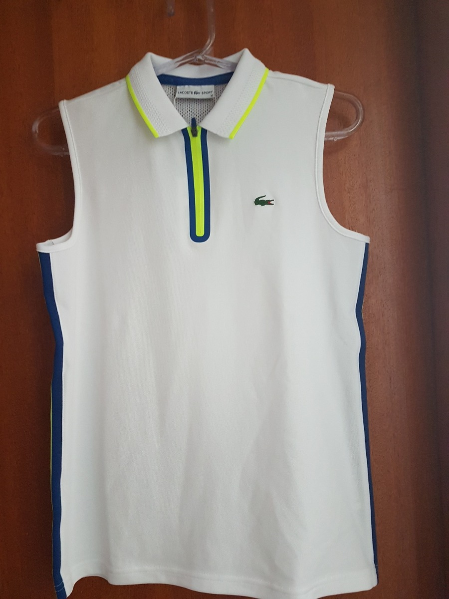 Camisa Lacoste Sport Feminina Ultra Dry - R  449,00 em Mercado Livre 7064e35f38