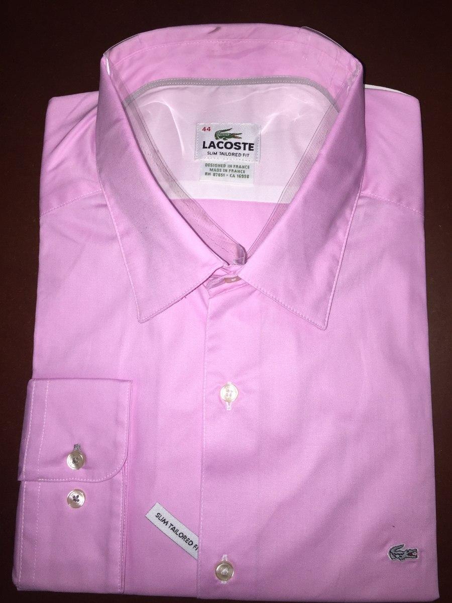Camisa Lacoste Talla Xl O 44 Tailored Fit -   135.000 en Mercado Libre 255d5685e6
