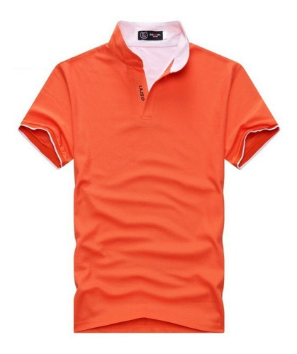camisa lajso ssearl laranja tamanho gg