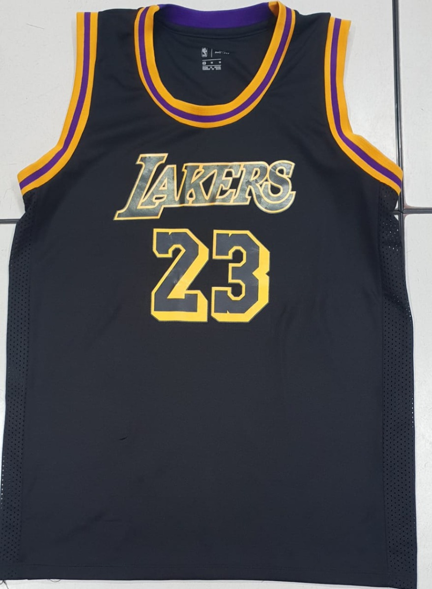 Camisa Lakers - Lebron James - King James - 23 - 2018 - R  49 1e805eccfc6d9
