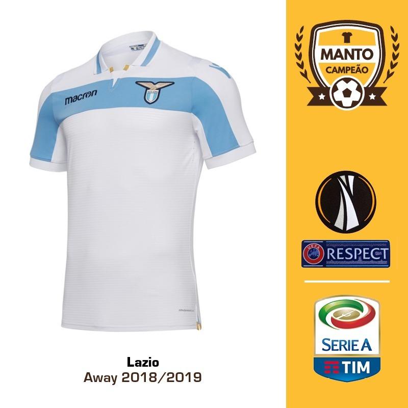 camisa lazio 2018 2019 away uniforme 2 immobile savic. Carregando zoom. 25b1c08a63022