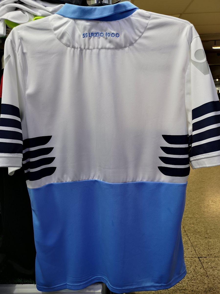 Camisa Lazio Italia Home 18 19 Novas Pronta Entrega - R  130 3a968fcc66796