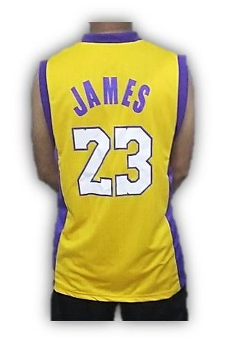 9223338cf Camisa Lebron James 23 Los Angeles Lakers Dry Fit Nba 2019 - R  57 ...