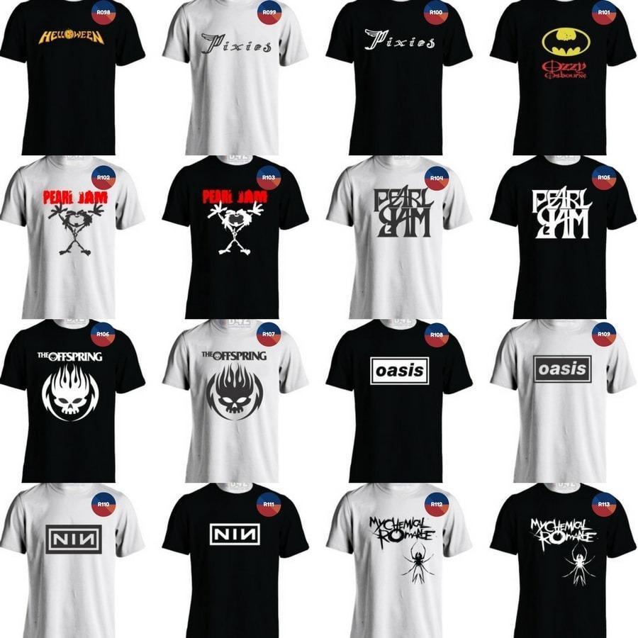 camisa led zeppelin camisetas banda de rock monster of rock. Carregando  zoom. d4992bf1c2ace
