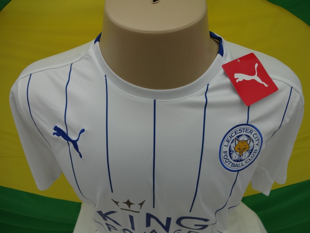 ... camisa leicester city nova oficial temporada 2016 2017. Carregando zoom.  reasonably priced e485f f5a51 ... fe8026f003993