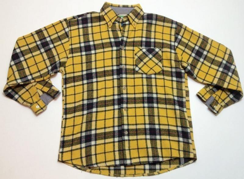 1eac1a46e99fd manga usa larga xl 777 mujer benetton Cargando talle zoom camisa leñadora  a1SqHwxU