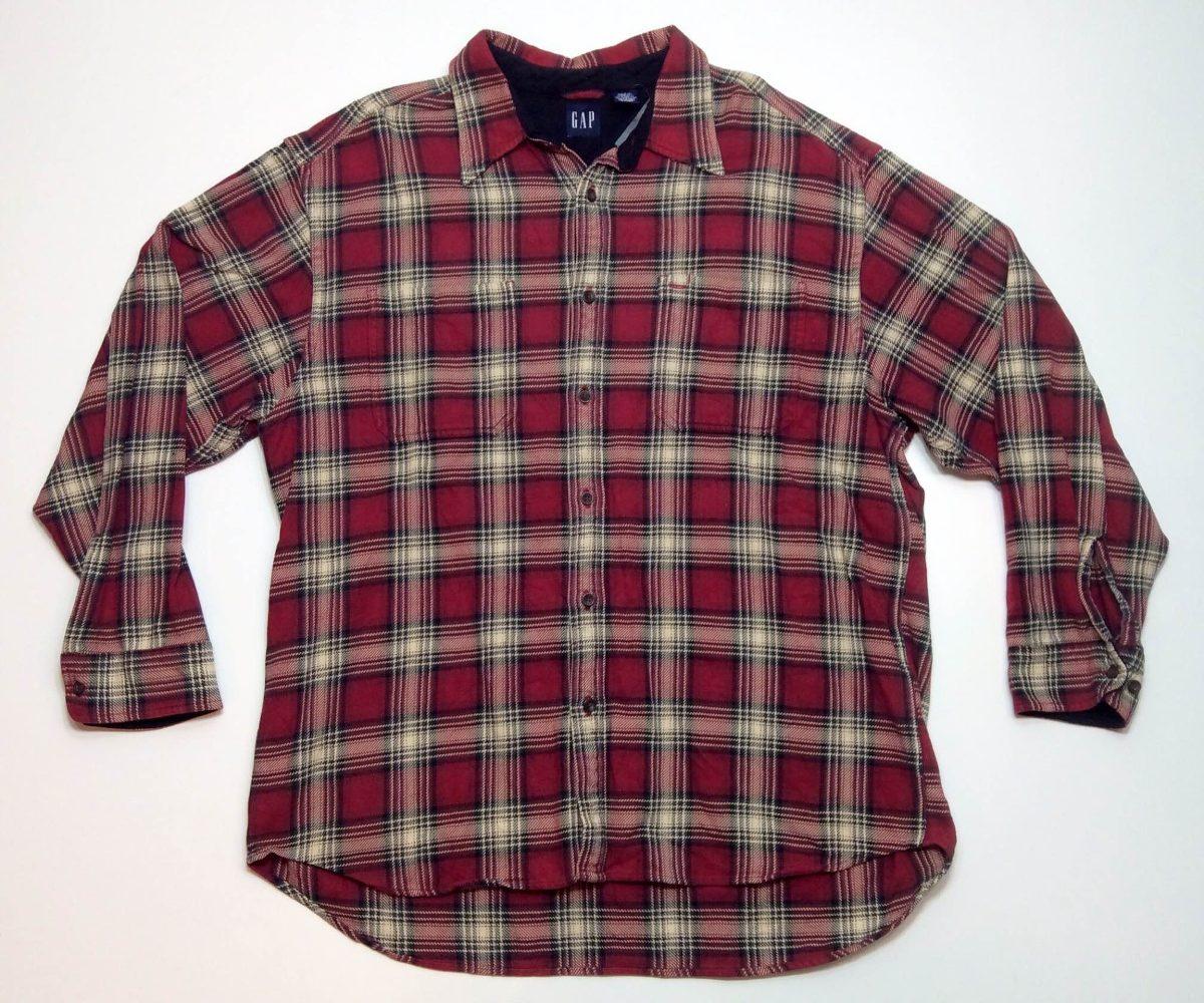 7c0d78dc3aae5 Camisa Leñadora Escocesa Abrigada Invierno Gap Usa Xlg 704 -   999 ...