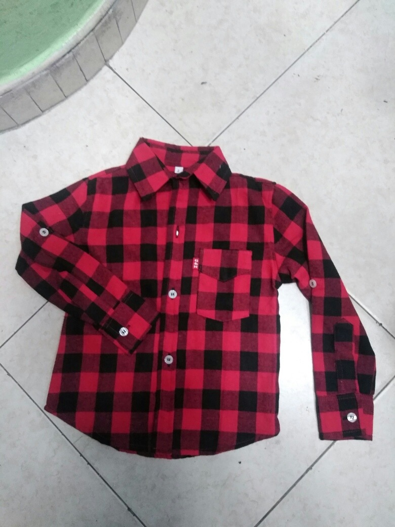 9719acc7dd Camisa Leñadora Para Niño -   59.900 en Mercado Libre