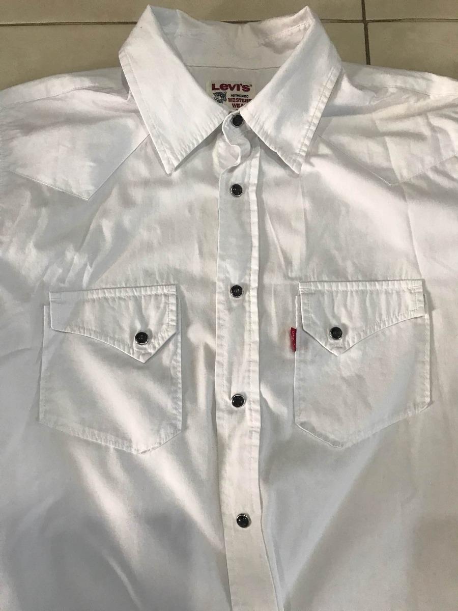8b722c062c9 Cargando levis s blanca camisa cowboy zoom vaquera zaCwx