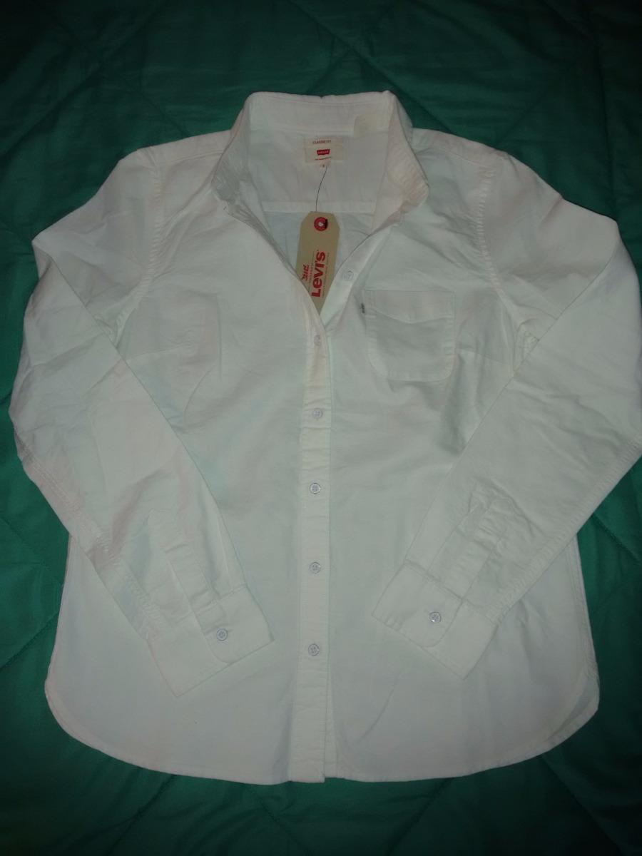 importada Classic Fit Mujer Talle S Blanca 600 Levi´s Camisa tnwXPqX