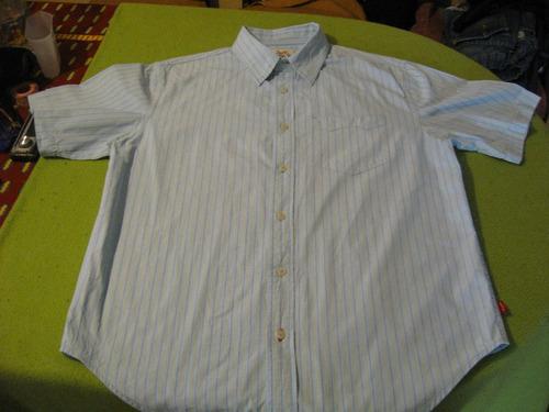 camisa levis strauss talla m manga corta