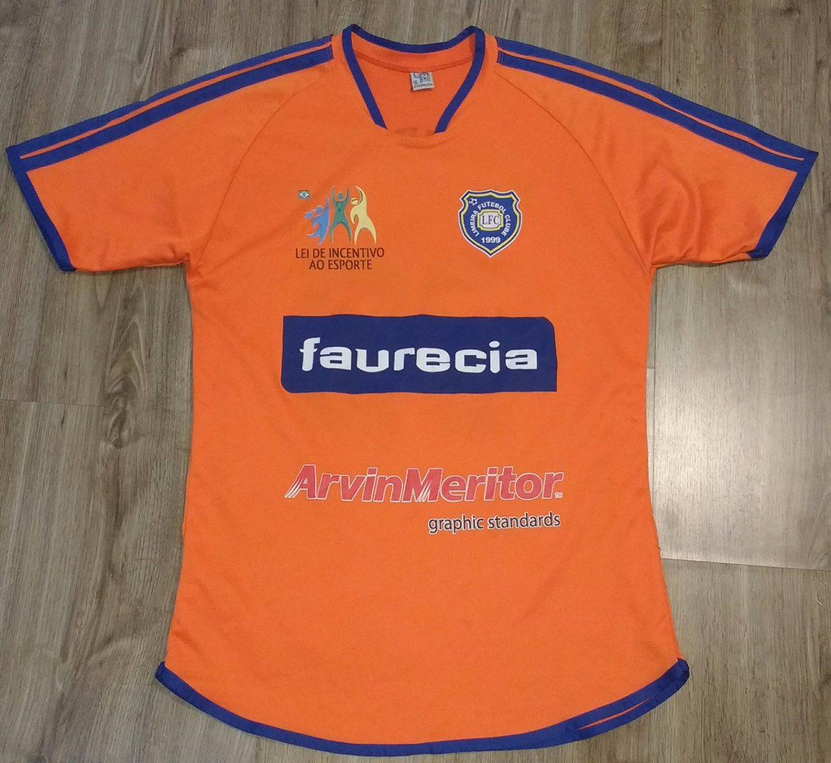 Camisa Limeira Futebol Clube 01 - R  79 d60ccf02aec04