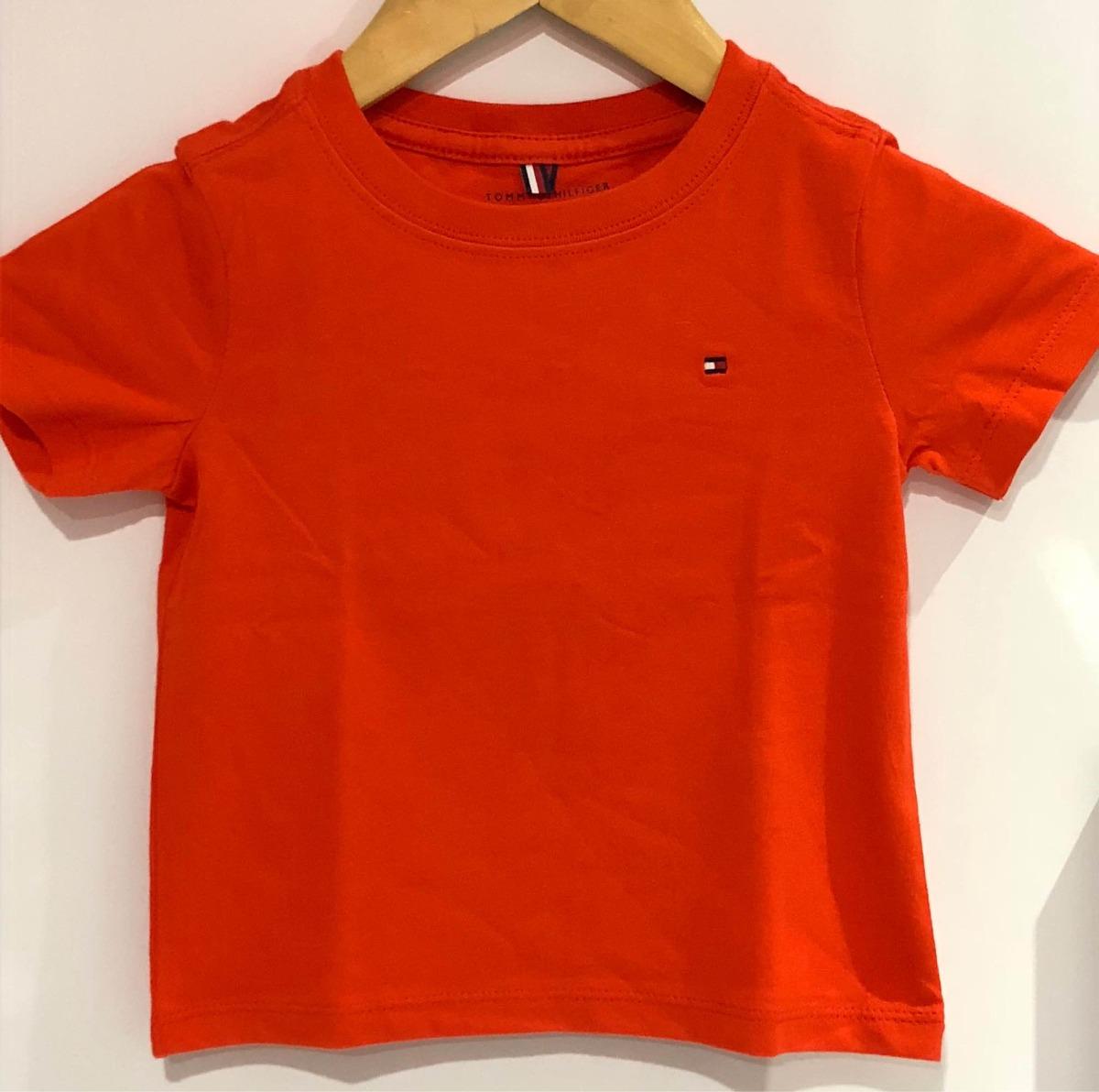 camisa lisa baby infantil tommy hilfiger original. Carregando zoom. b2f6f6a4992c1