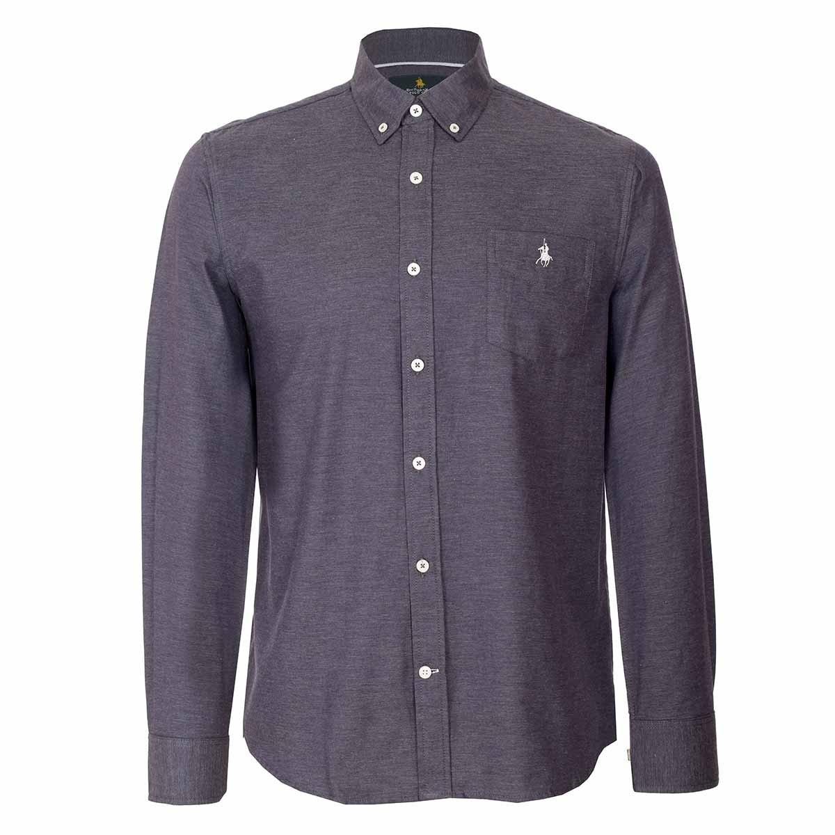 7b72e4cd81 Camisa Lisa Polo Club -   1