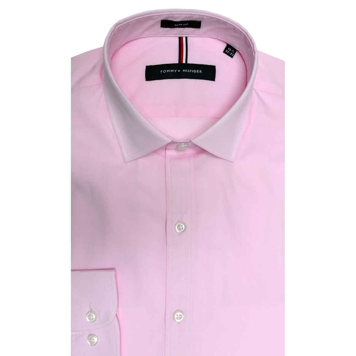 ec875f4d60 Camisa Lisa Tommy Hilfiger -   1