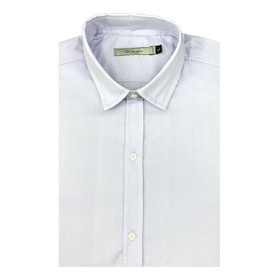 Camisa Lisa Varios Colores Slim Fit Entallada