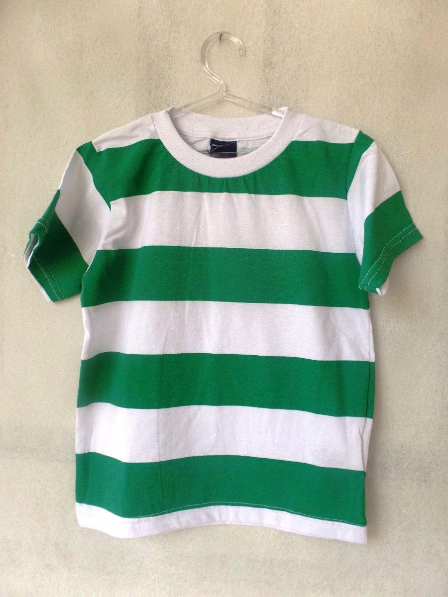 d27910d6e4478 Camisa Listrada Verde - Tamanhos 2