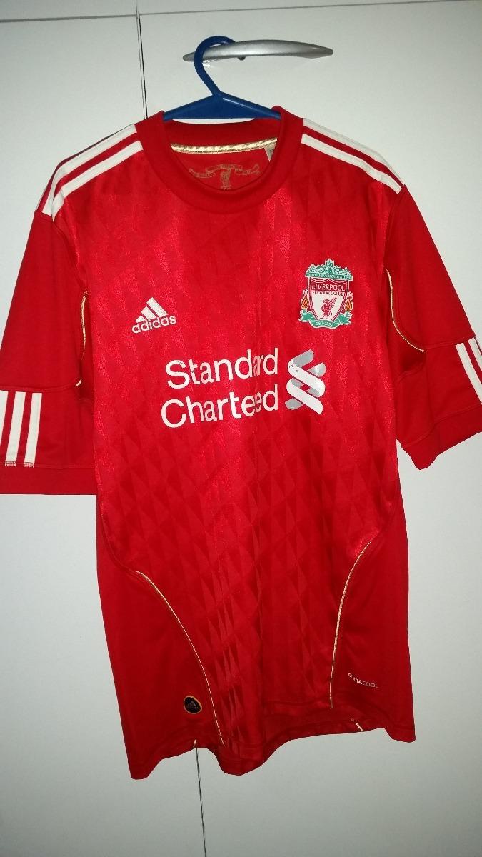 camisa liverpool 2010 adidas. Carregando zoom. 0e1a59ff6ba7f