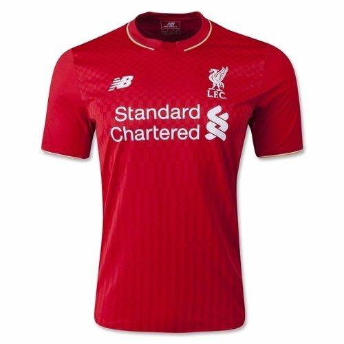 Camisa Liverpool 2017 Oficial - Firmino 758ece6cfdf76