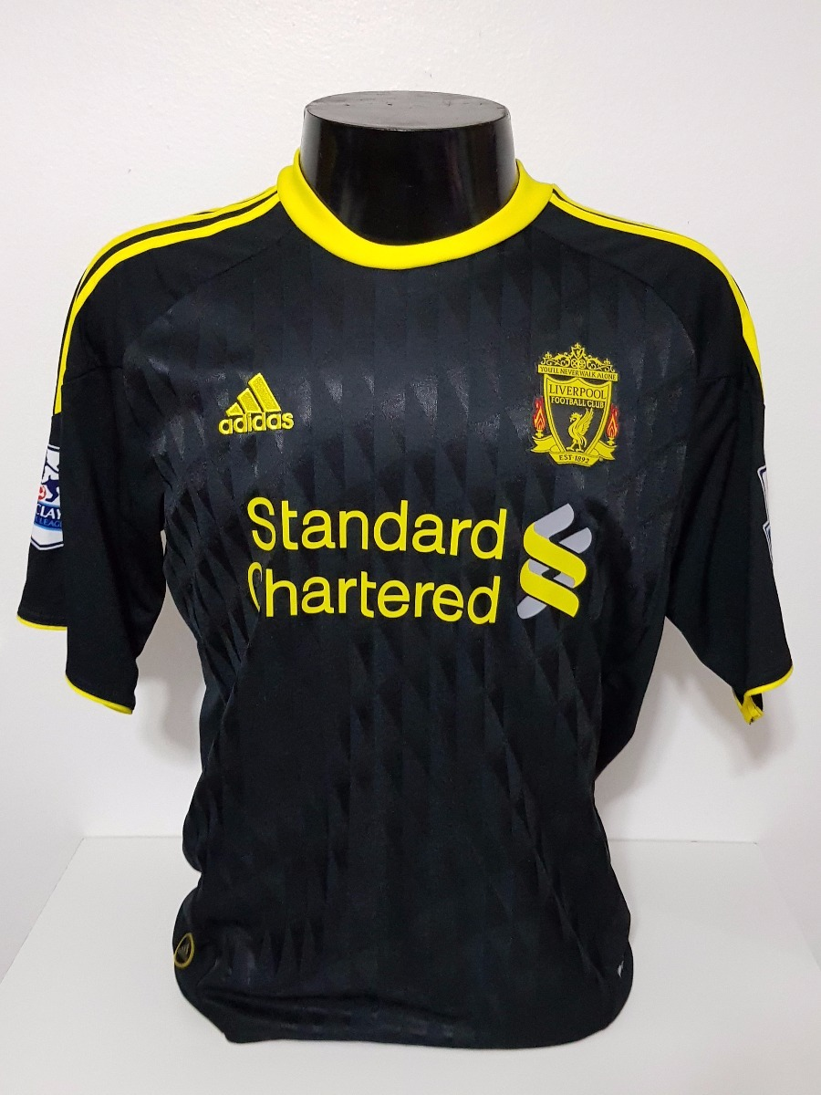 53415111ed Camisa Liverpool 3rd 10-11 Cole 10 Patch Premier League - R  100