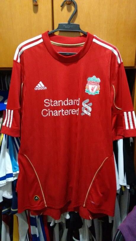 camisa liverpool adidas vermelha. Carregando zoom. cb067a36b4c8a