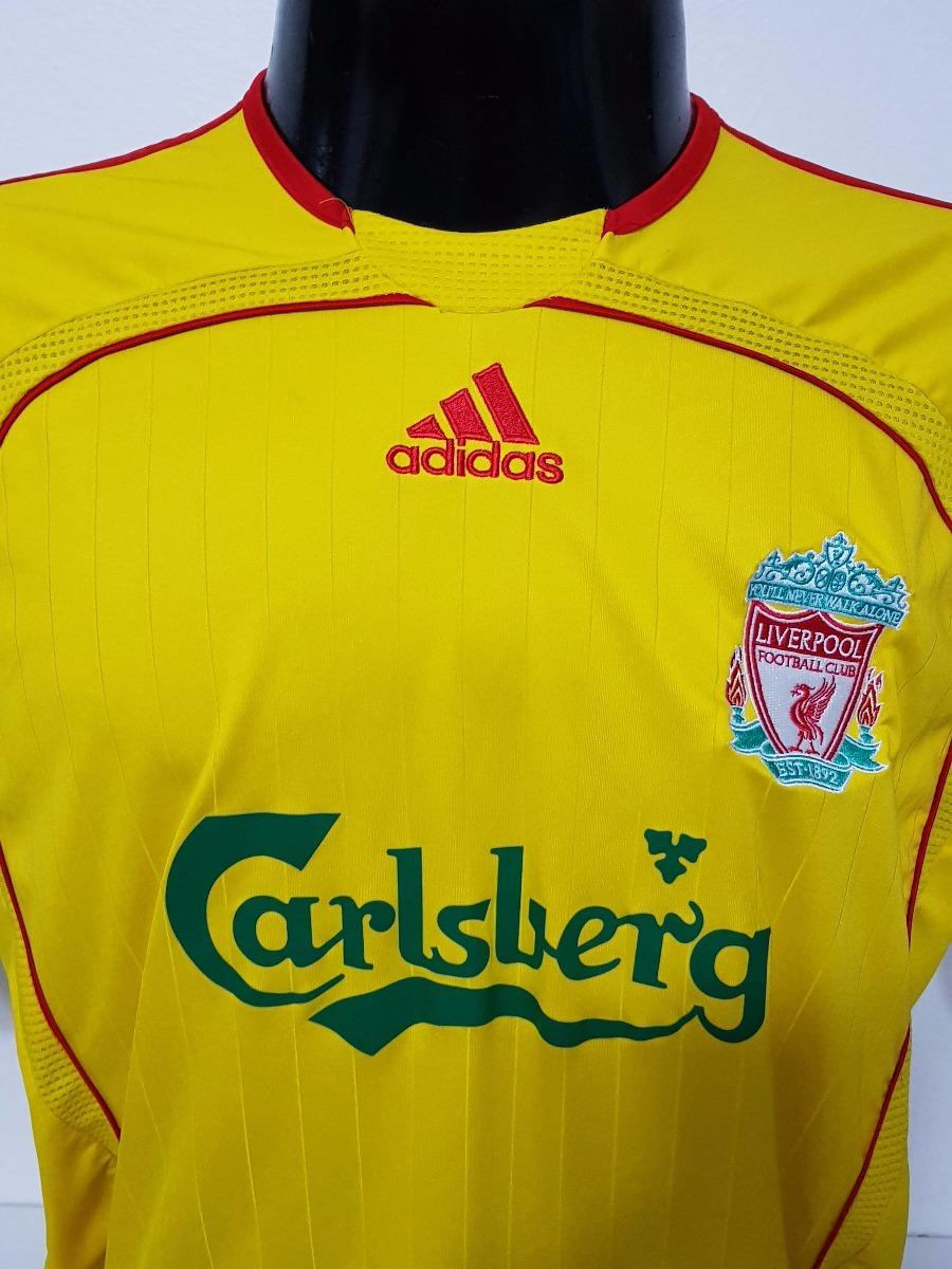 premium selection 4456d 0ca1b Camisa Liverpool Away 06-07 Gerrard 8 Patch Premier League