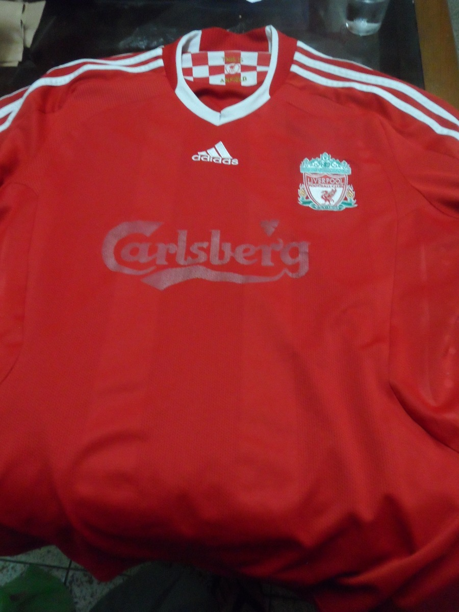 Camisa Liverpool Fc 2008-10 Home L g - 2009-10 Third L g - R  50 161f5fd1adc8a