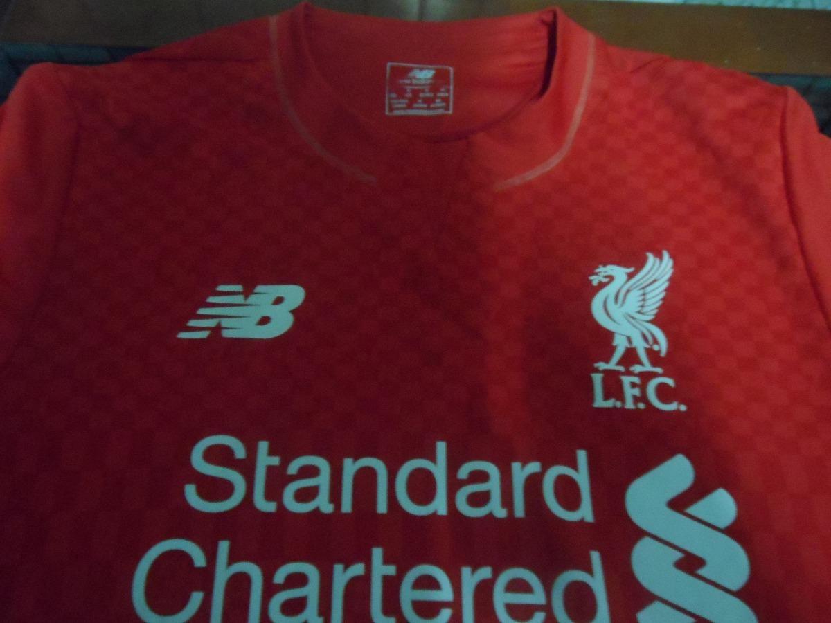 Camisa Liverpool Fc 2015-16 P - !!! Ler Anuncio !!! - R  50 4f9294e74aec7