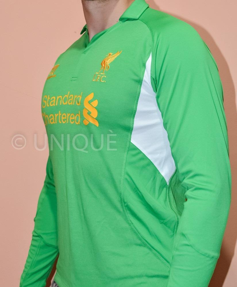 camisa liverpool fc manga longa - goleiro - original. Carregando zoom. 5c4d0a3a28103