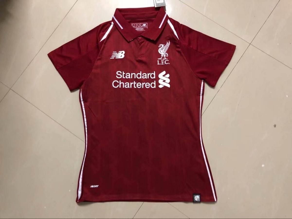 df8e76c04 camisa liverpool feminina 2018-2019 original - frete gratis. Carregando zoom .