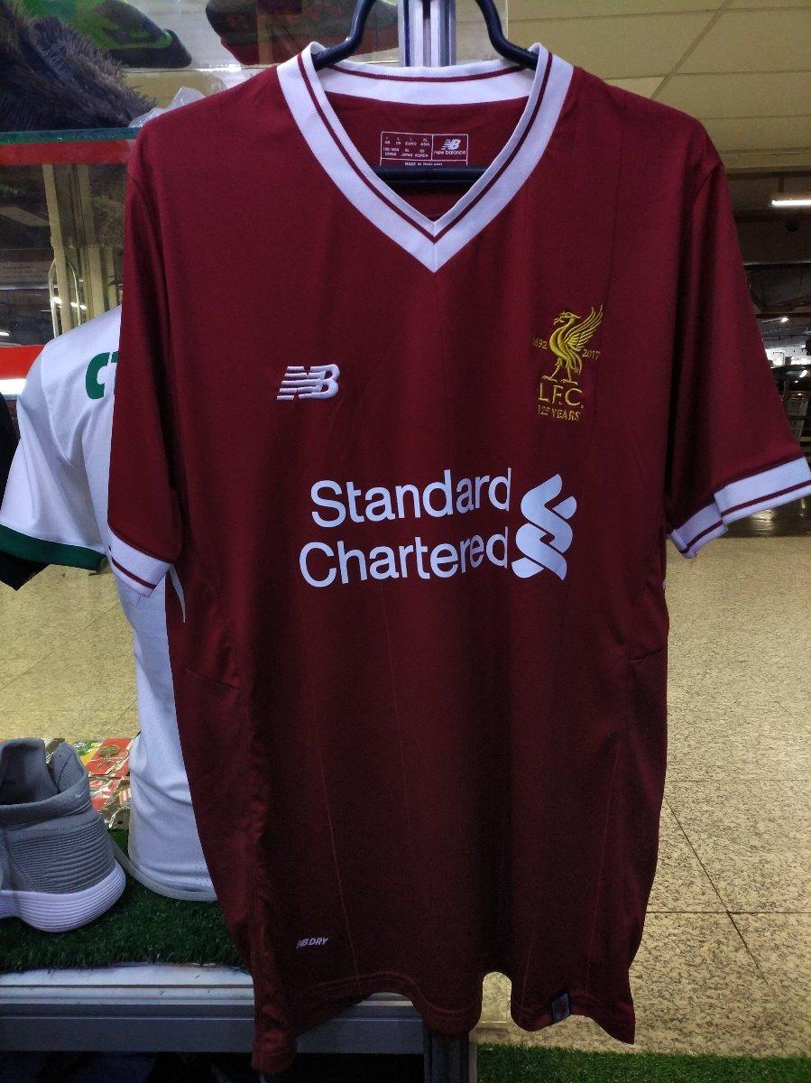 Camisa Liverpool Home 17 18 Tamanho M g Novas A P.entrega - R  120 ... 4b75ddbf17056