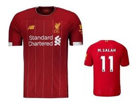 0f0080b6b36d2 Camisa Mohamed Salah Liverpool - Camisas de Futebol Inglaterra Liverpool  com Ofertas Incríveis no Mercado Livre Brasil