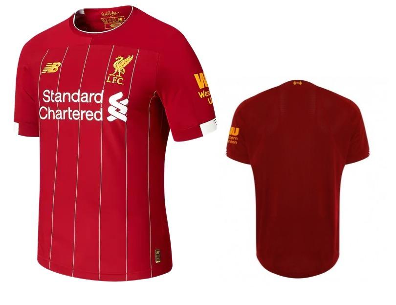 92fd8b1a25f37 Camisa Liverpool Lançamento 2019/2020 Pronta Entrega - R$ 120,00 em ...