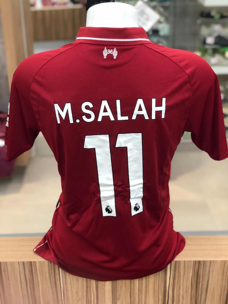 7a60e54e Camisa Liverpool Mohamed Salah 18/19 - R$ 99,90 em Mercado Livre