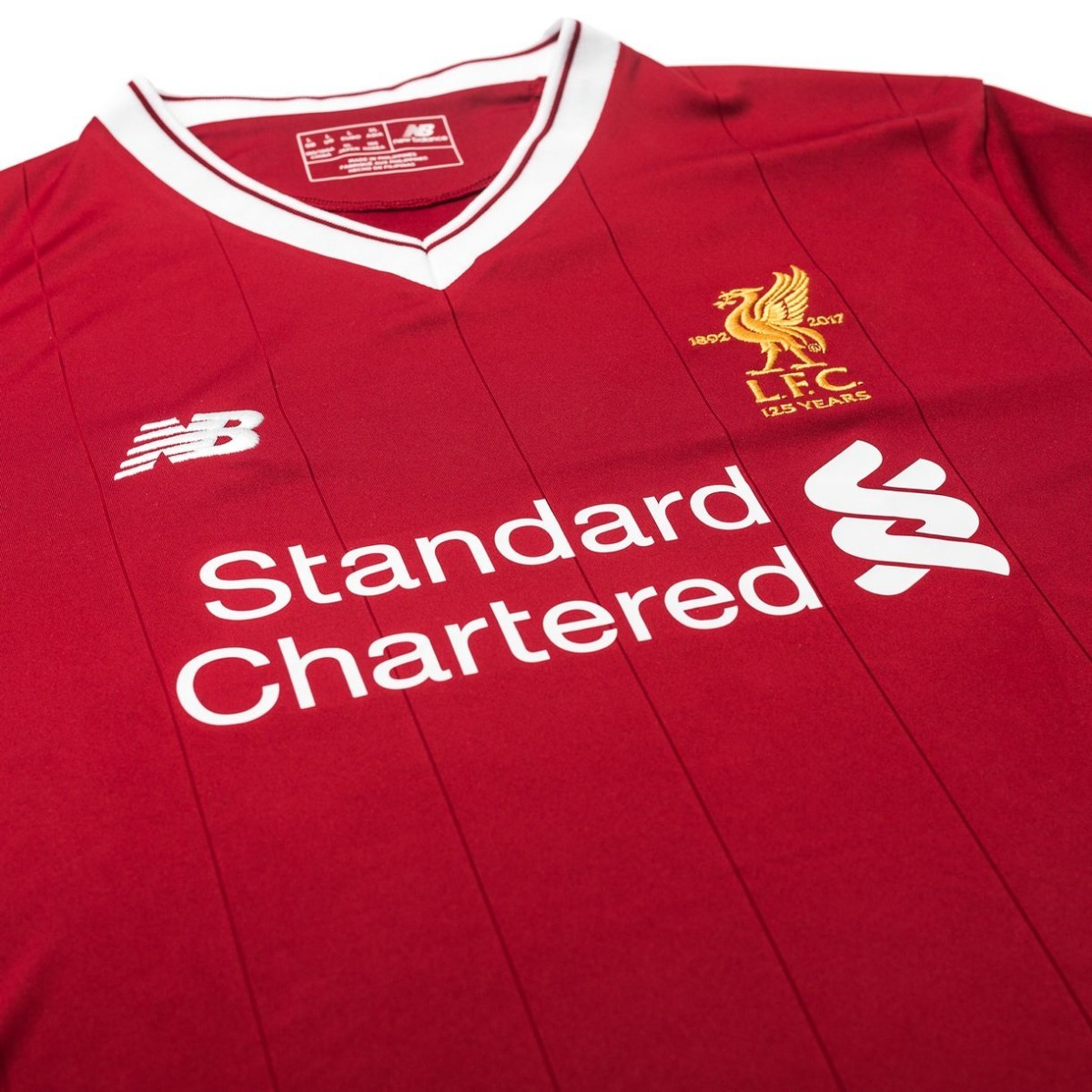 Camisa Liverpool New Balance 2018 Vermelha - Nº10 Coutinho - R  179 ... 958ef5d44a1d3