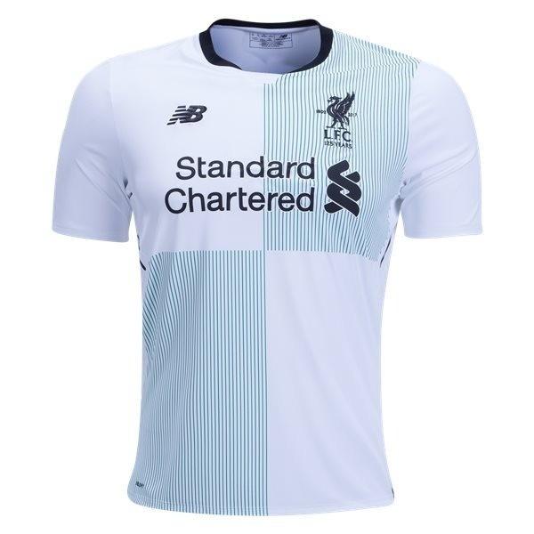 64e19dae4 Camisa Liverpool New Balance Oficial 17 18 - R  250