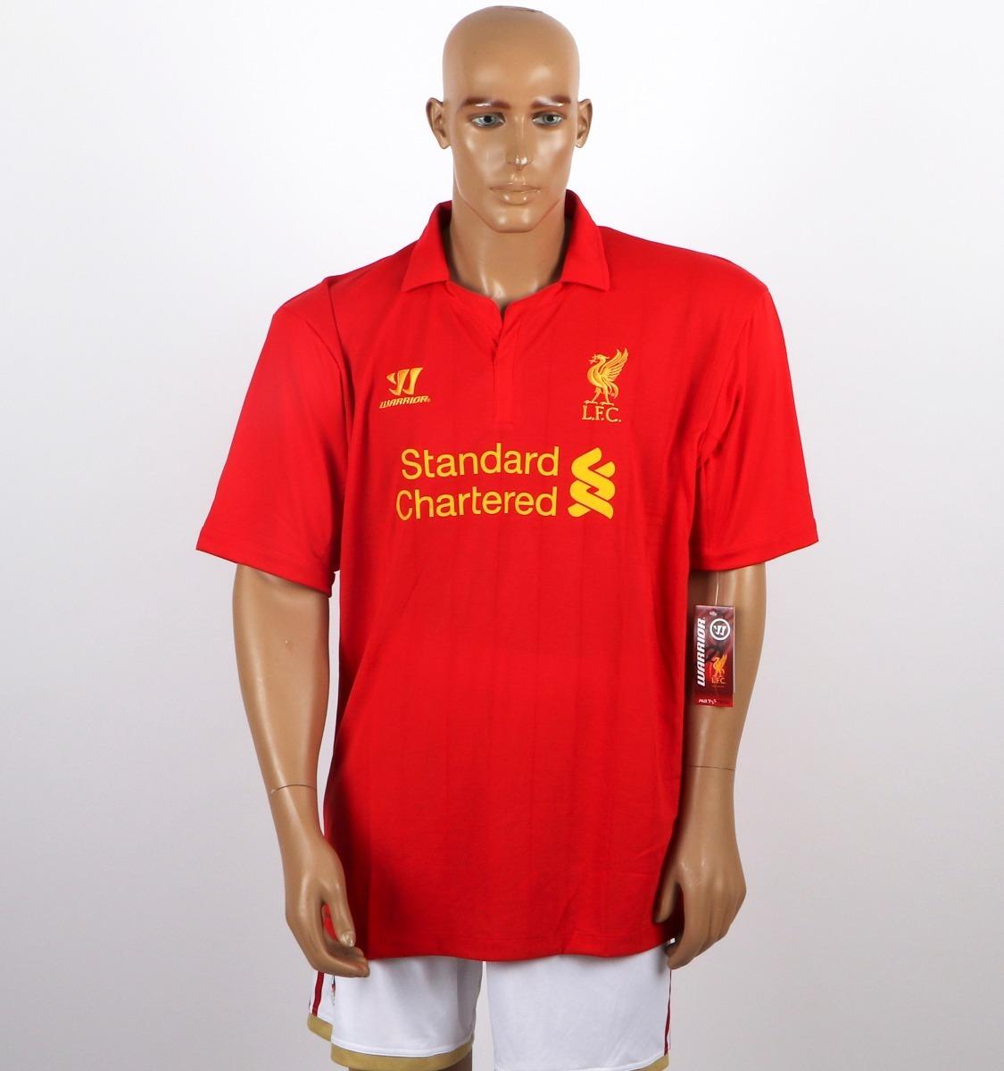 camisa liverpool original warrior vermelha - inglaterra. Carregando zoom. 1e0b3fb057946