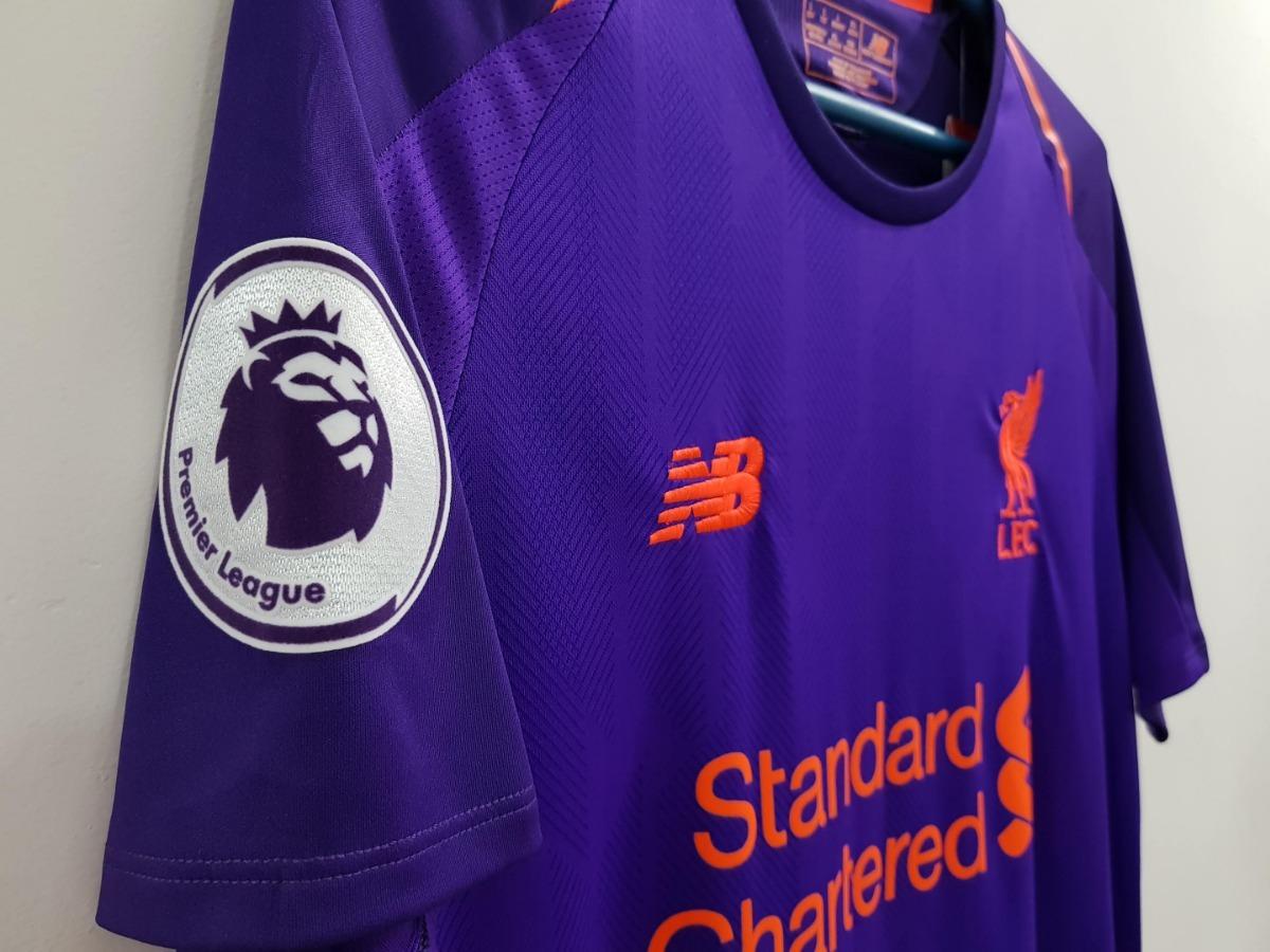 8d0959a6eecd4 camisa liverpool patch premier league 18/19 pronta entrega. Carregando zoom.