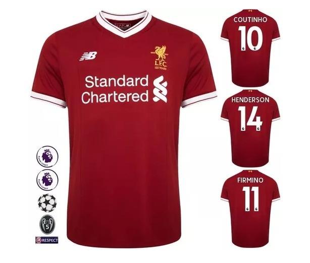 Camisa Liverpool - Uniforme 1 - 2017 Original - R  120 cfde53e13efd1
