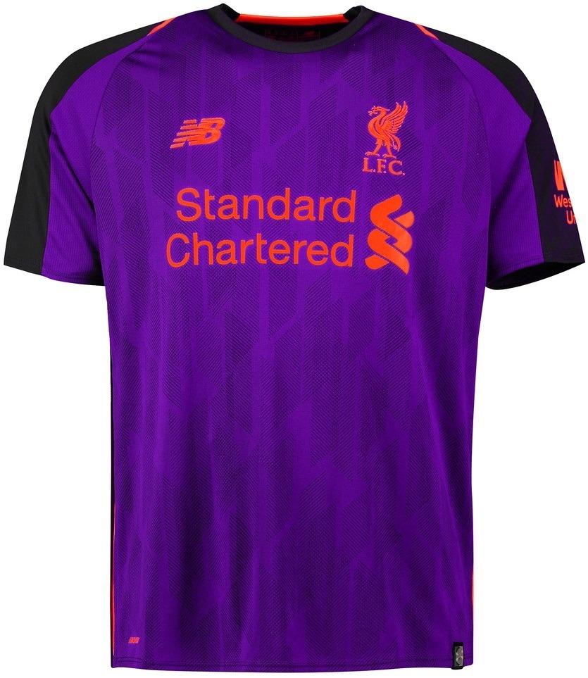 Camisa Liverpool - Uniforme 2 - 2018   2019 - Frete Grátis - R  125 ... 408e765e13723