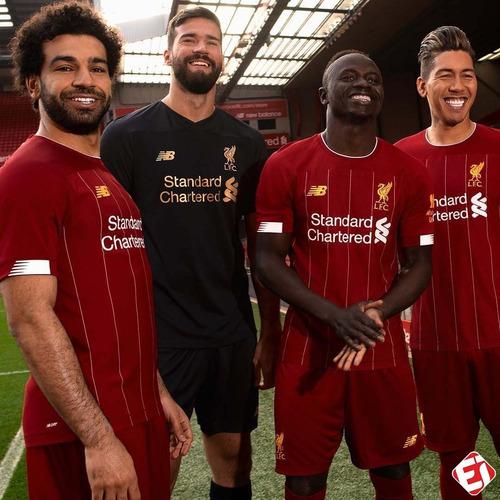camisa liverpool  vermelha 2019/20 pronta entrega promoção!