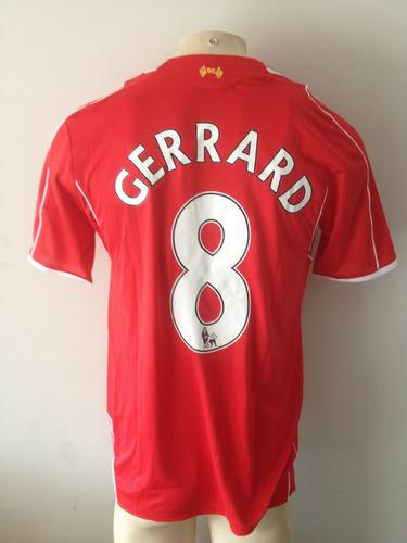Camisa Liverpool Warrior Despedida  8 Gerrard -nova Etiqueta - R ... ce9ce98a20983