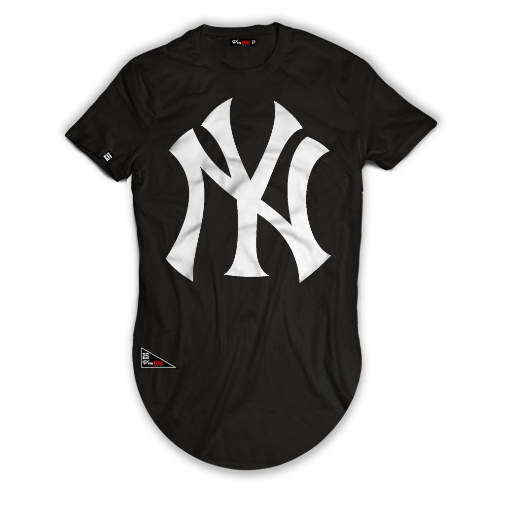 efe18cc8b0 camisa long line new york ny modelo longa blusa marga curta. Carregando  zoom.
