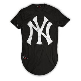 99bea51941 Camiseta Long Line Ny - Calçados