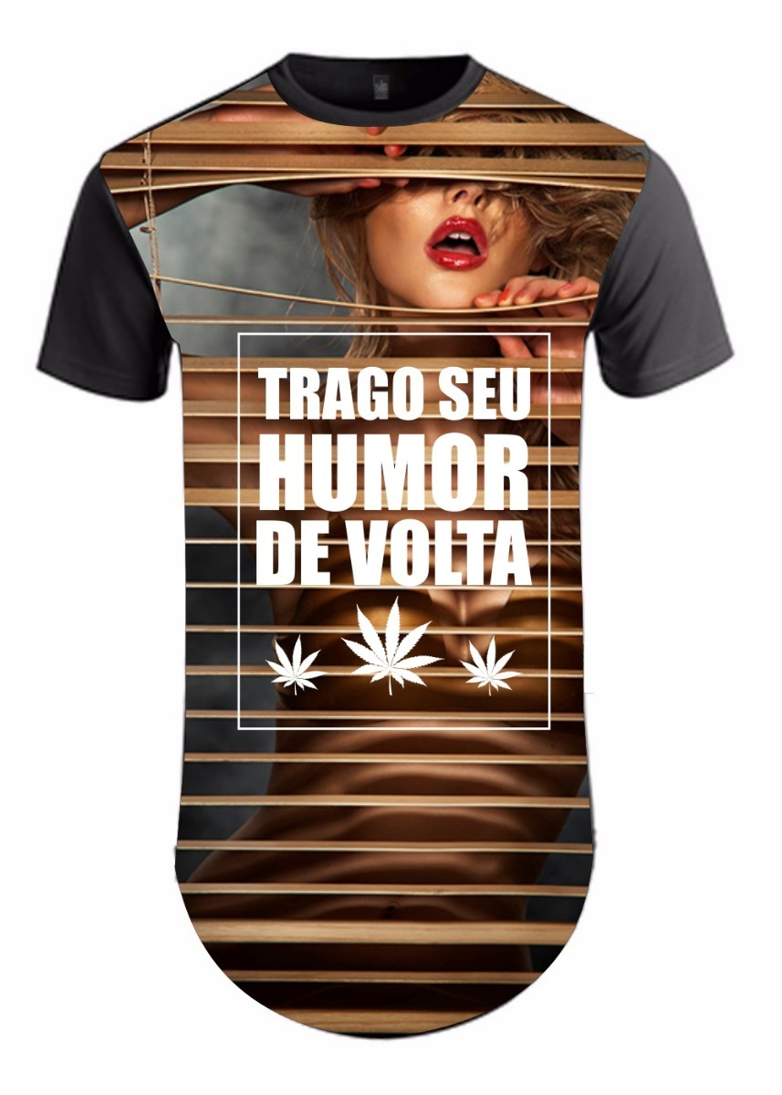 camisa longline camiseta masculina mulher sexy humor swag. Carregando zoom. e800000207d