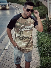 b613f3d918b60c Camisa Longline Gold Kings Do Exército