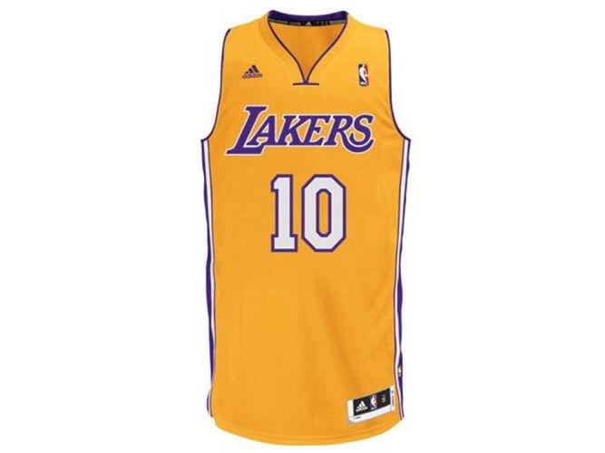 8a3b35cdf Camisa Los Angeles Lakers 10 Nash Oficial Nba Original - R  158