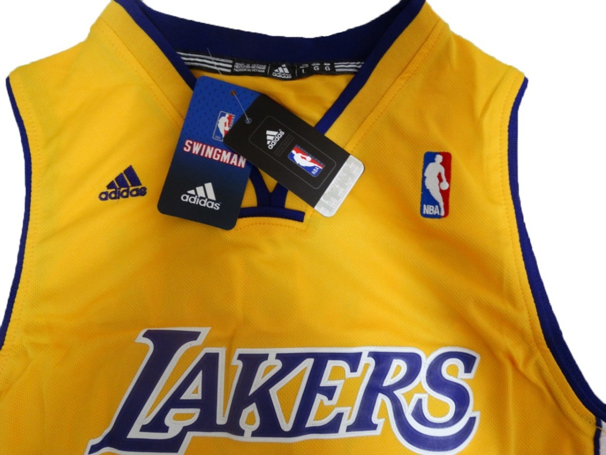 41122682f990e Camisa Los Angeles Lakers Oneal O neal Amarela - R  149
